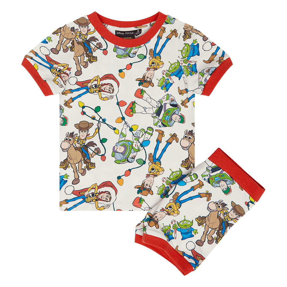 Rock your Baby Christmas Toys PJ Set