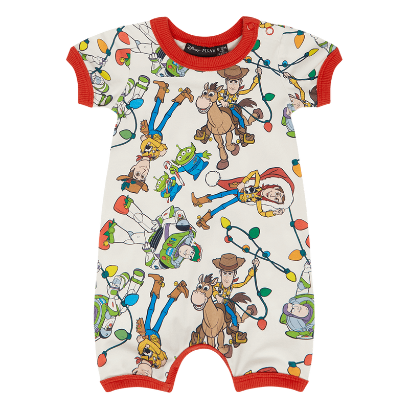Rock your Baby Christmas Toys Playsuit