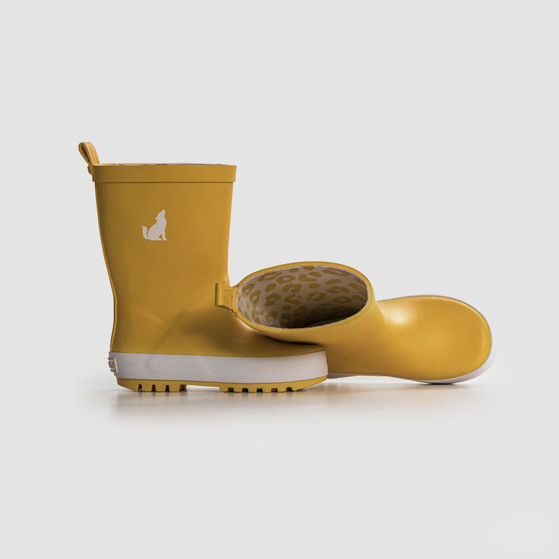 Crywolf Rainboots Mustard - Threads for Boys