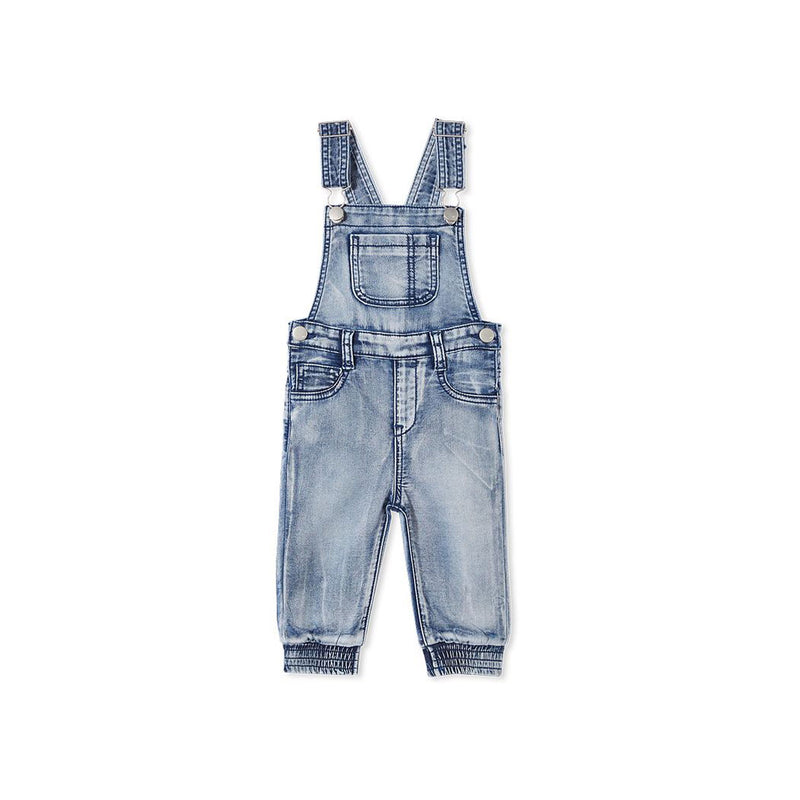 Milky Denim Overall