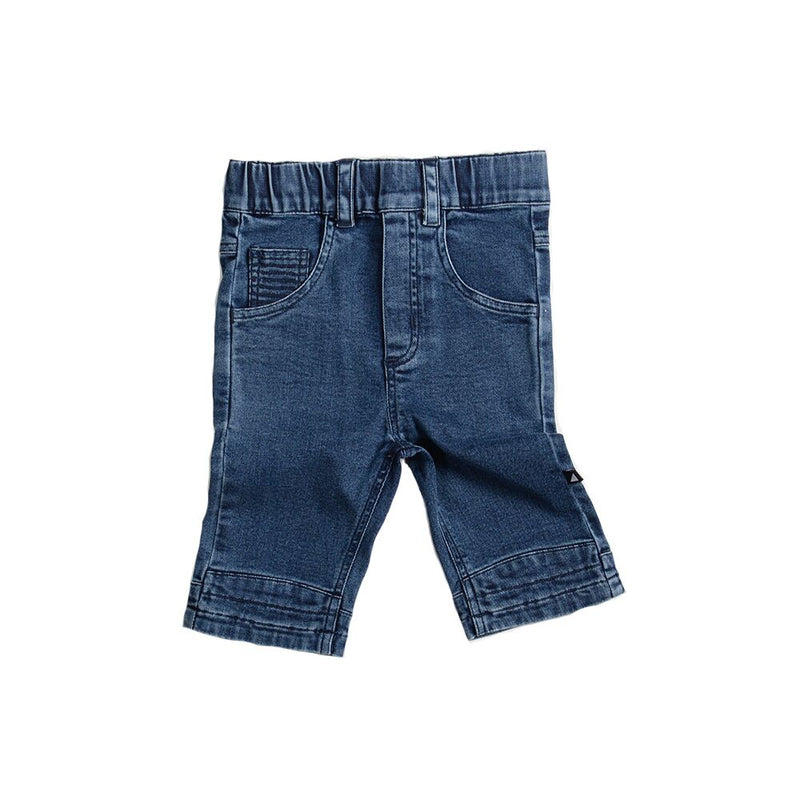 Anarkid Denim Jogger Shorts - Threads for Boys