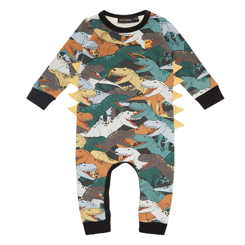 Rock Your Baby Dino Stampede Playsuit