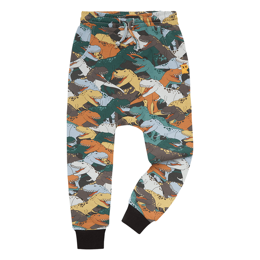 Rock Your Baby Dino Stampede Track Pants