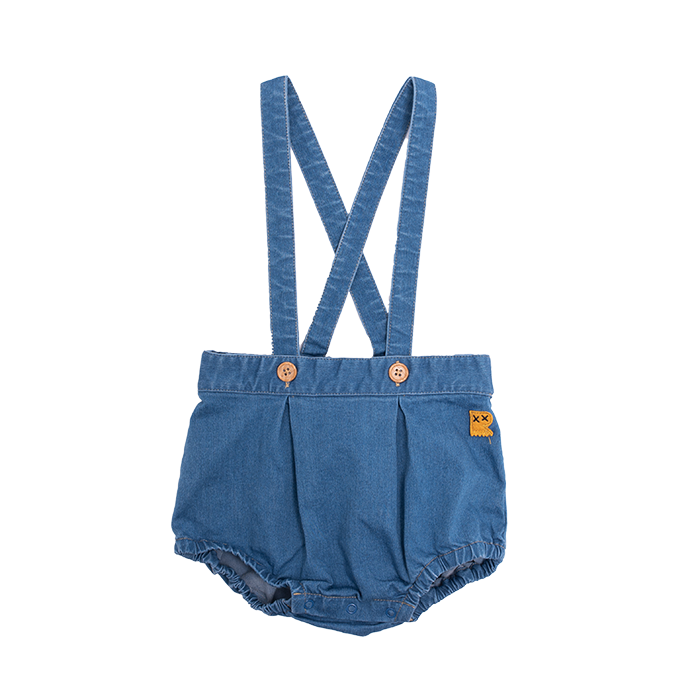 Rock Your Baby Denim Romper - Threads for Boys