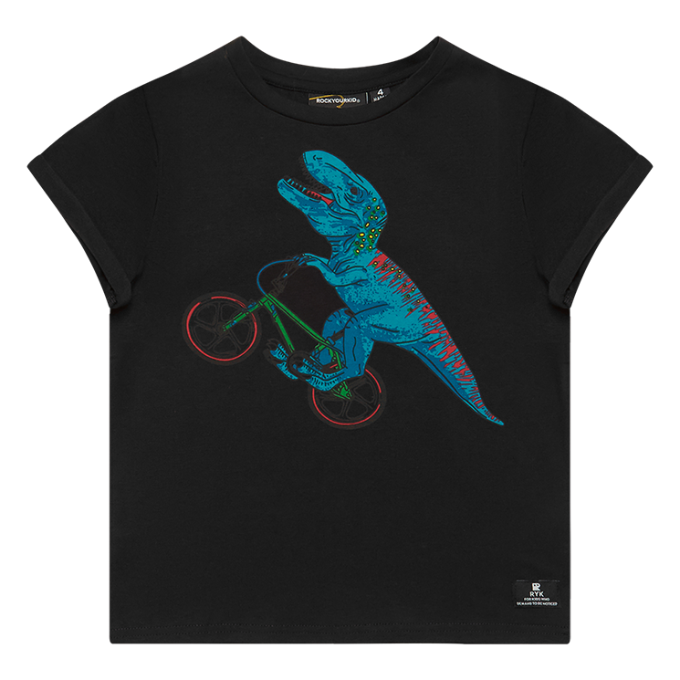 Rock your Baby Dino Bike T-Shirt