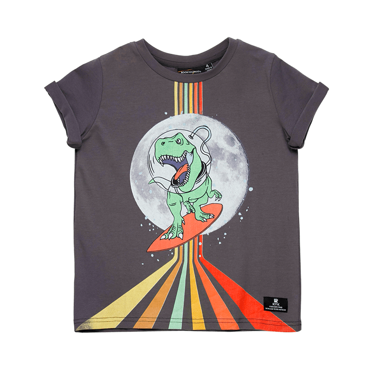 Rock your Baby Dino in Space T-Shirt