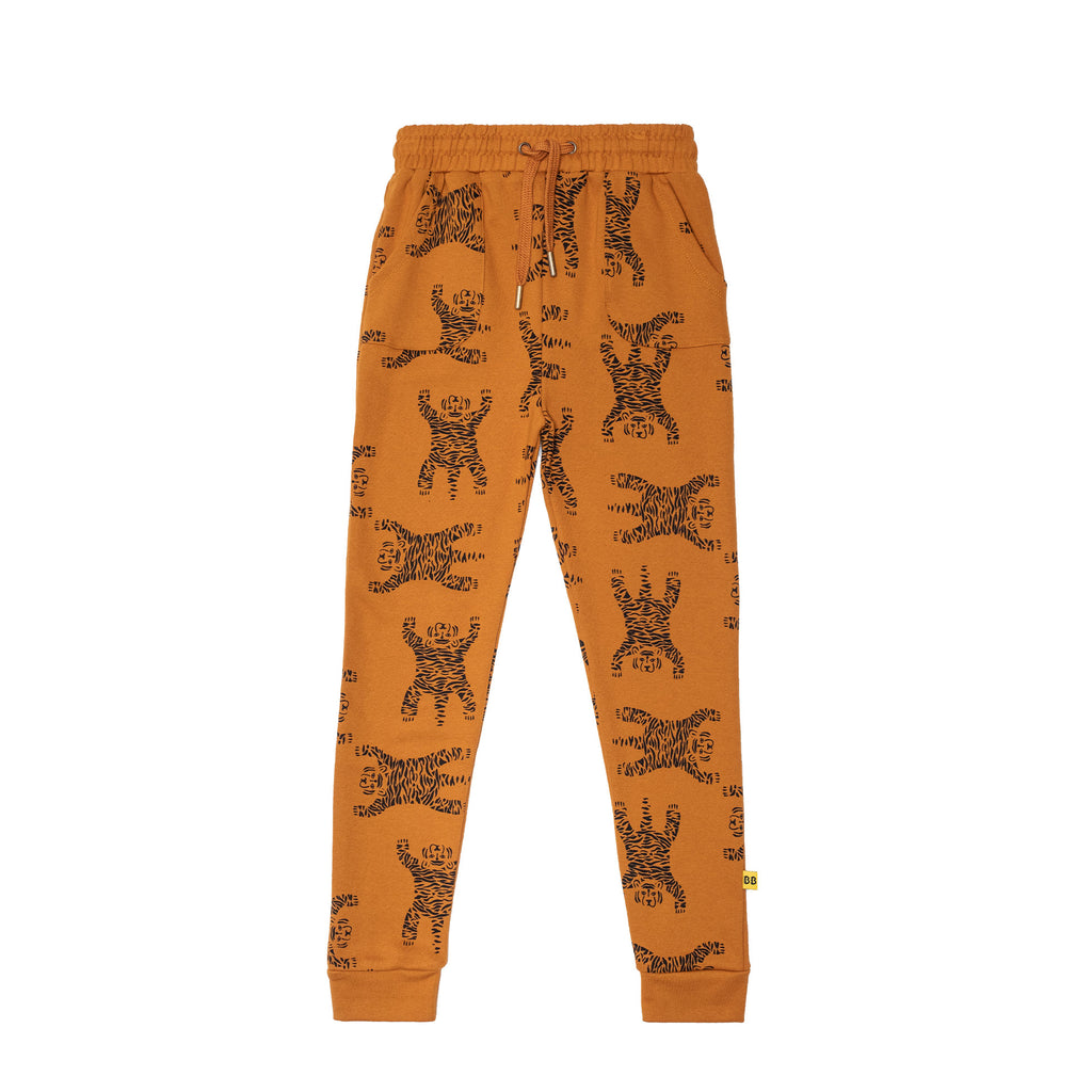 Band of Boys Easy Tiger Repeat Fleece Pocket Skinny Trackies