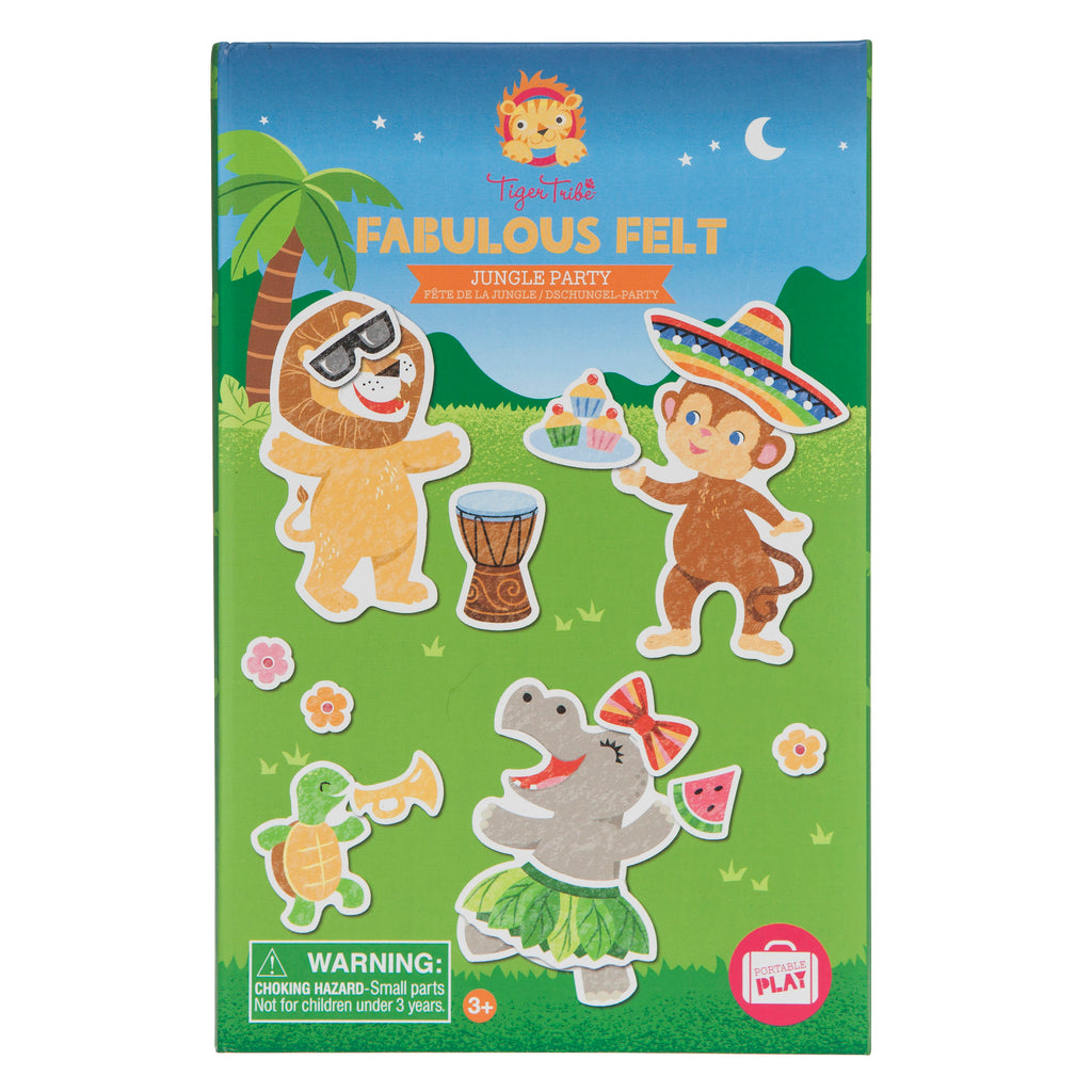 Tiger Tribe Fabulous Felt - Jungle Party - Threads for Boys