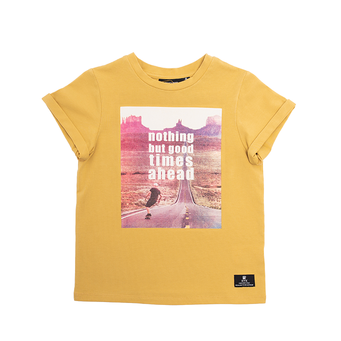 PRE-ORDER Rock Your Baby Good Times Ahead T-Shirt - Threads for Boys