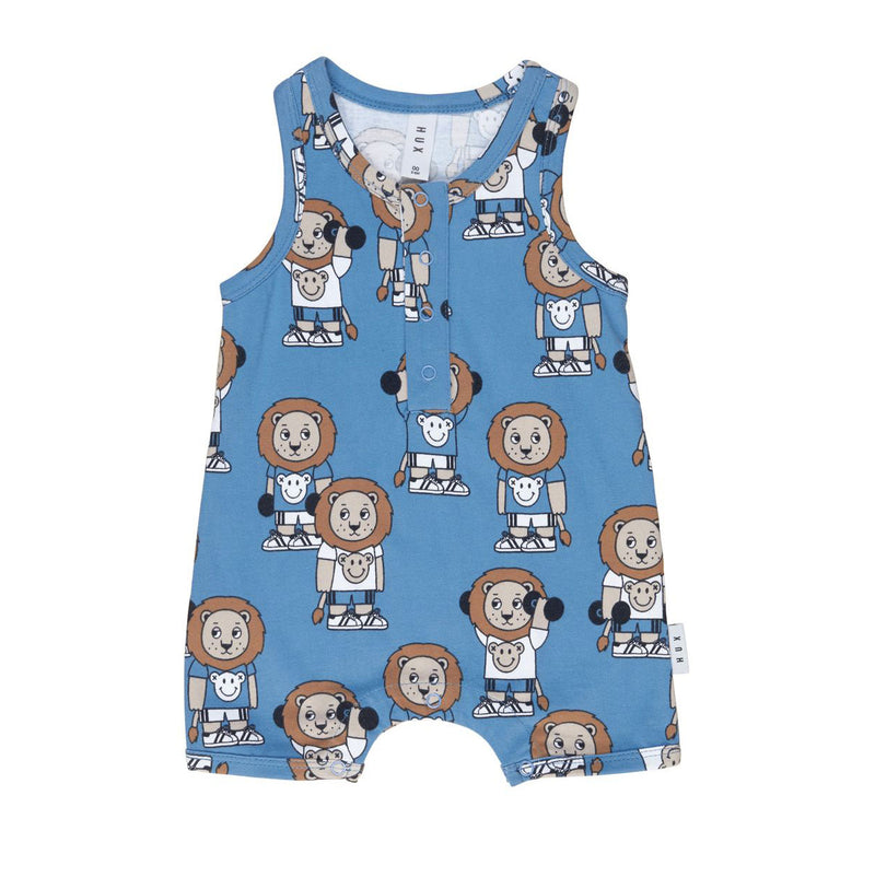 Huxbaby Gym Time Sleeveless Romper