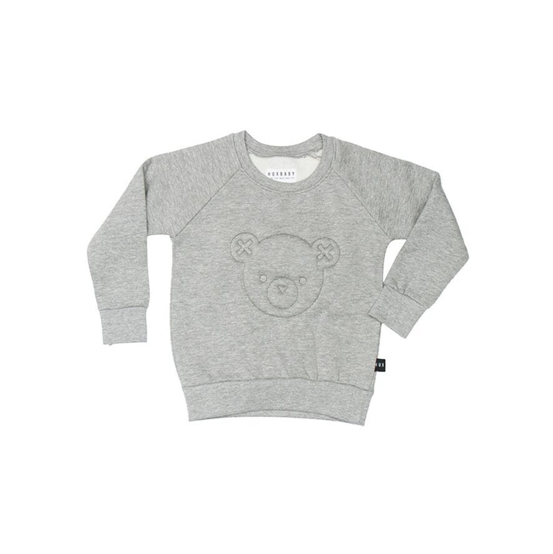 Huxbaby Stitch Bear Sweatshirt - Threads for Boys