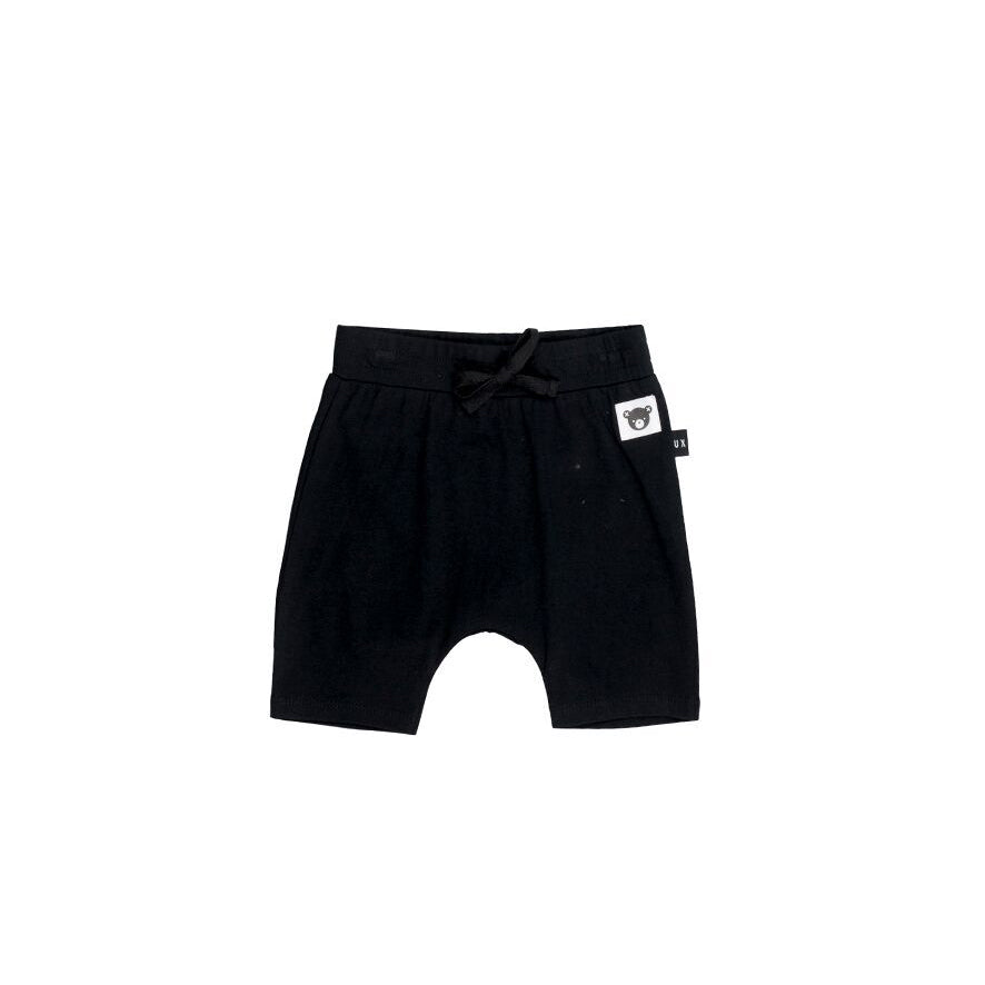 Huxbaby Black Shorts - Threads for Boys