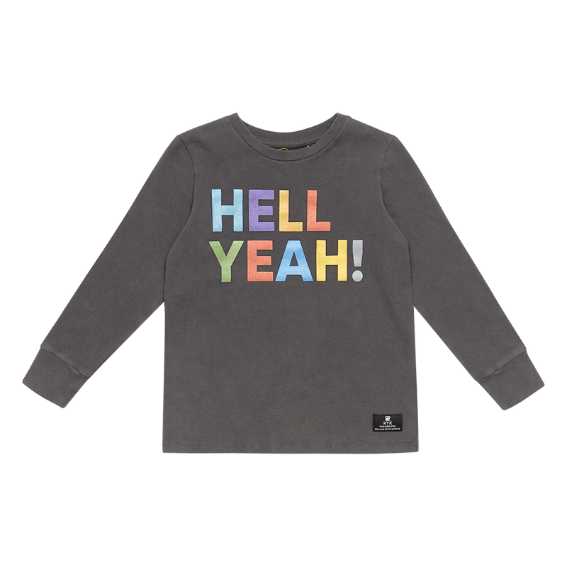 Rock Your Baby Hell Yeah T-Shirt - Threads for Boys