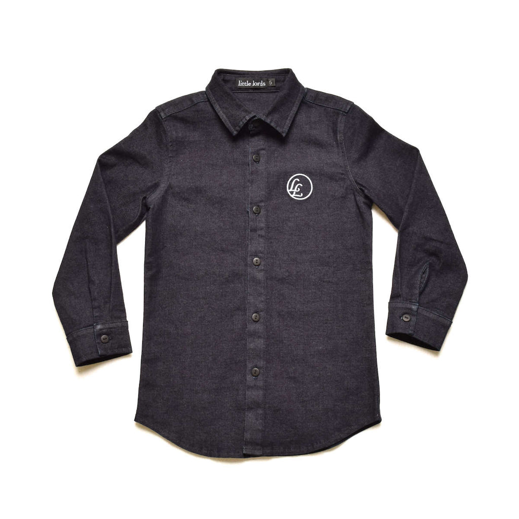 Indigo Denim Shirt - Threads for Boys