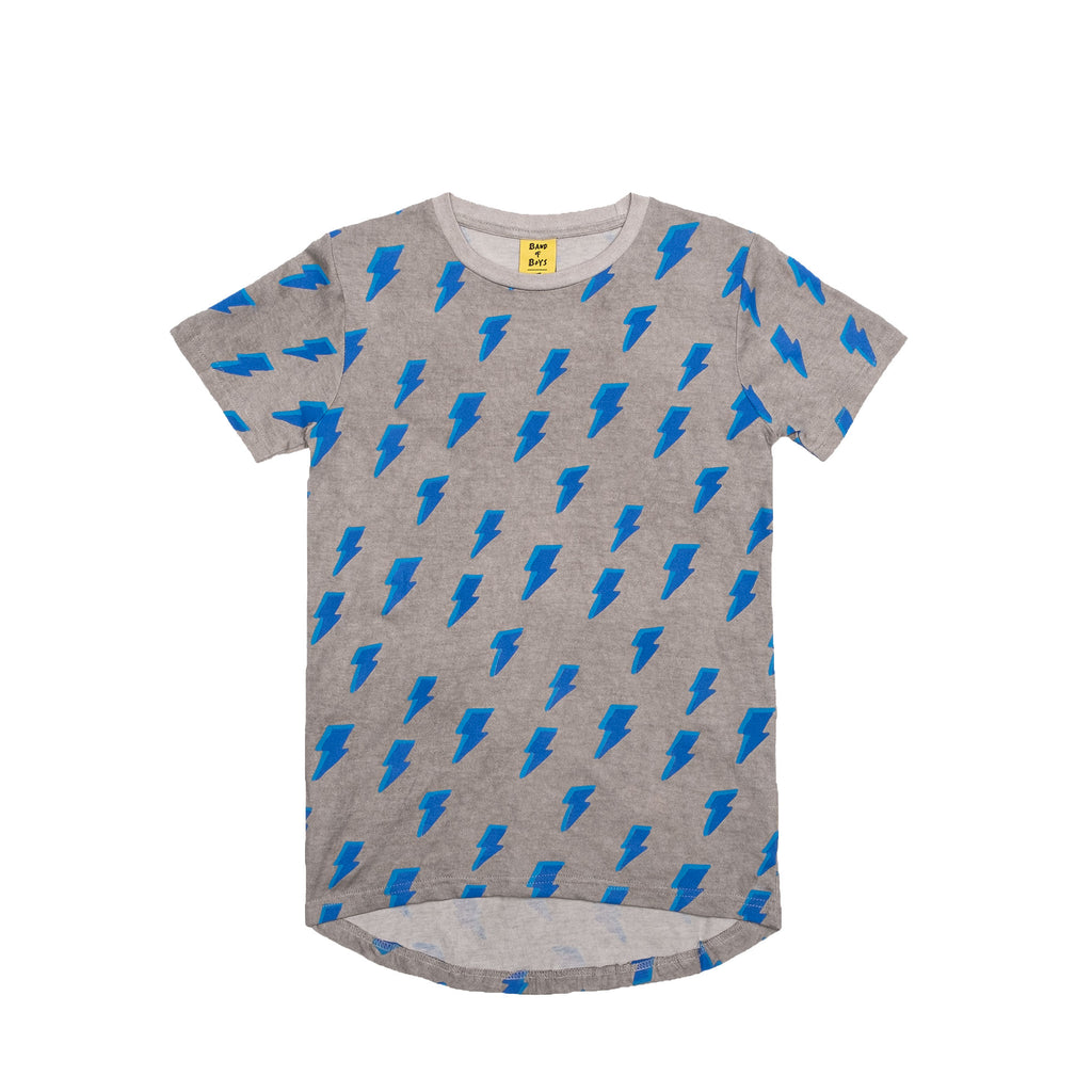 Band of Boys Its Electric scoop back tee