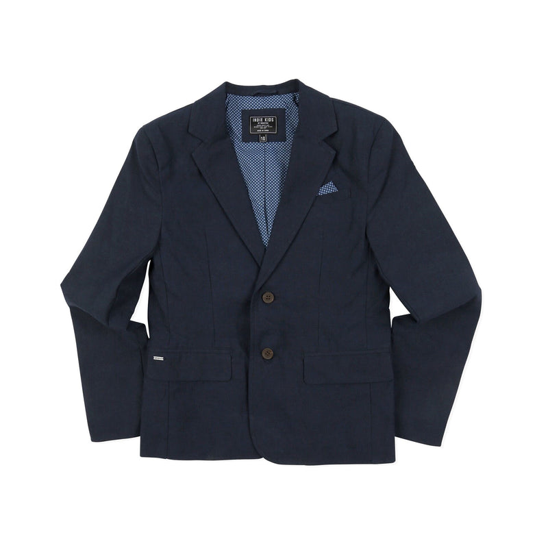 Indie Kids Linen Blazer - Threads for Boys