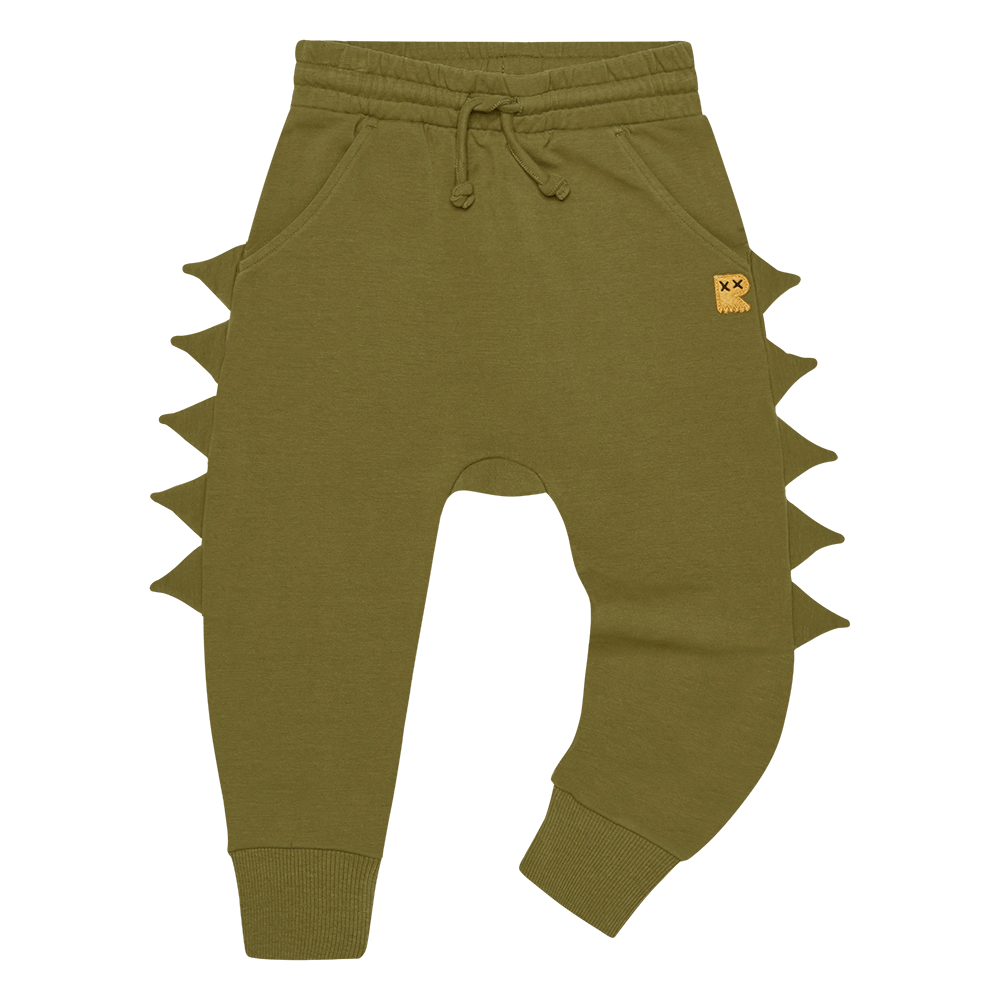 PRE-ORDER Rock Your Baby Khaki Dino Track Pants