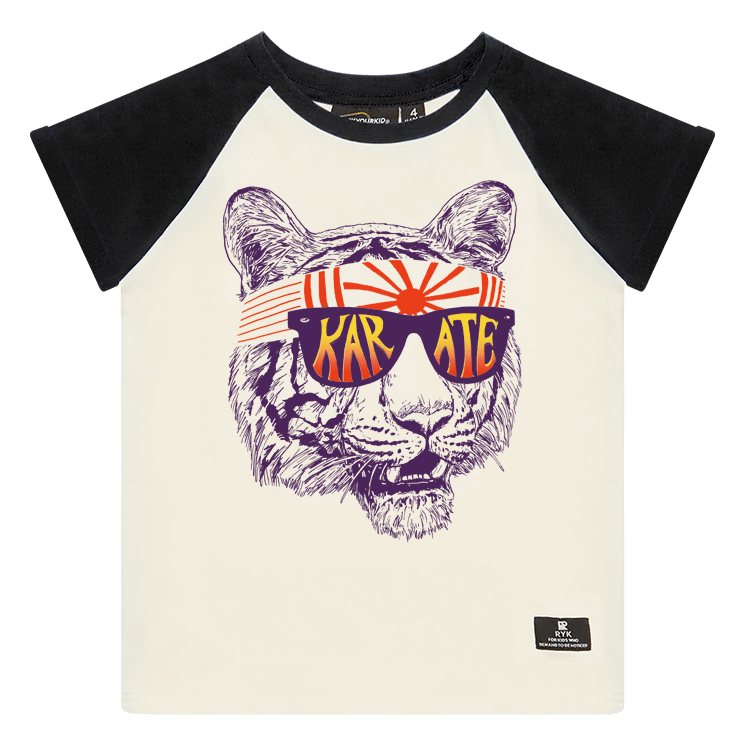 Rock your Baby Karate Tiger T-Shirt