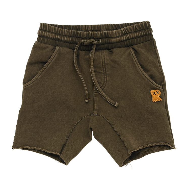 PRE-ORDER Rock your Baby Khaki Wash Smash Shorts