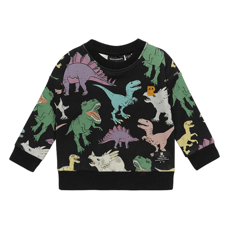 Rock Your Baby Land Before Time Baby Sweatshirt - Threads for Boys