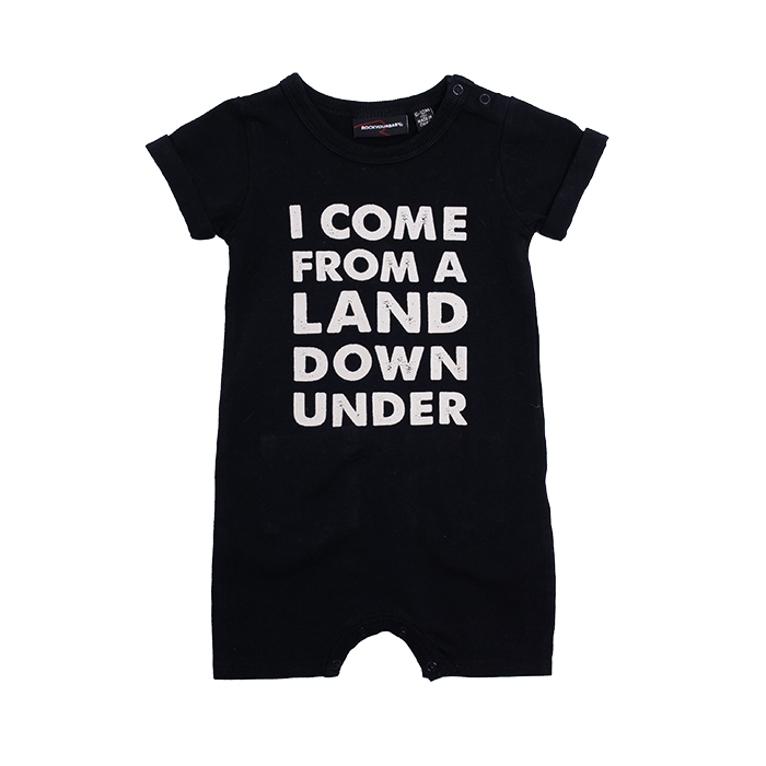 PRE-ORDER Rock Your Baby Land Down Under Playsuit - Threads for Boys