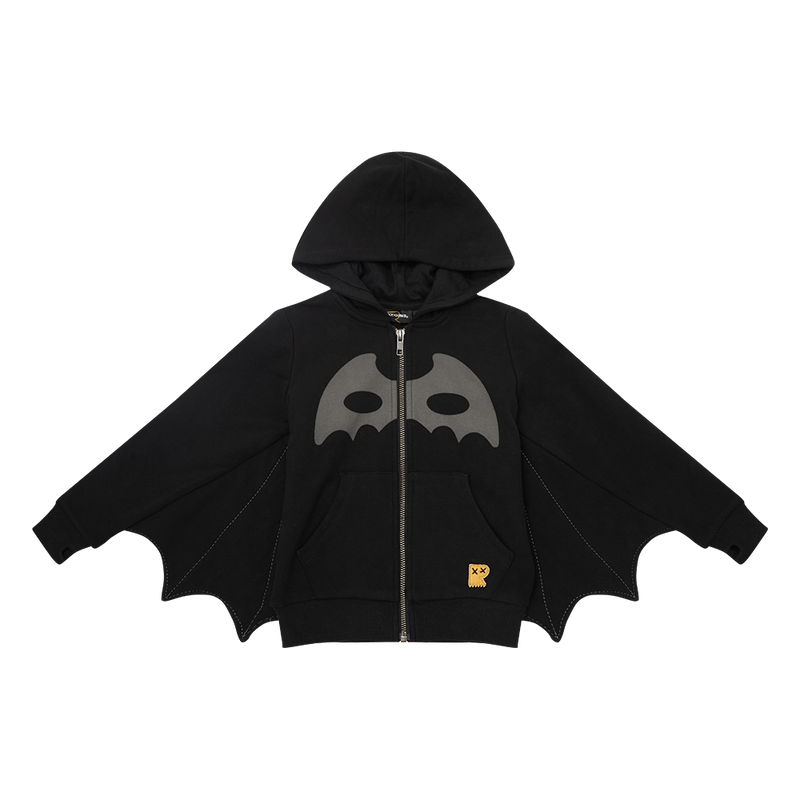 Rock Your Baby Masked Crusader Bat Wing Hoodie