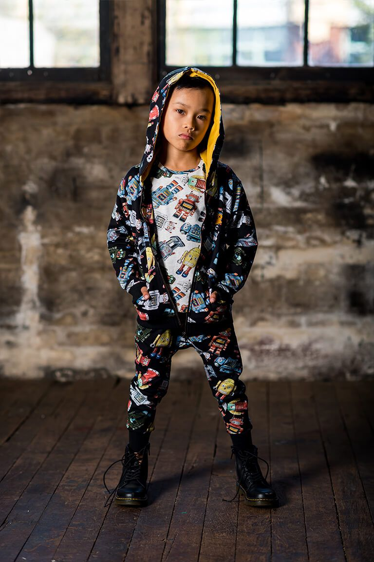 Rock Your Baby Robotic Trackpants - Threads for Boys