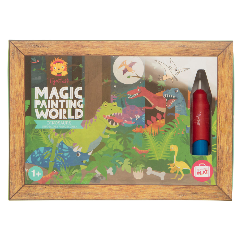 Tiger Tribe Magic Painting World - Dinosaurs - Threads for Boys