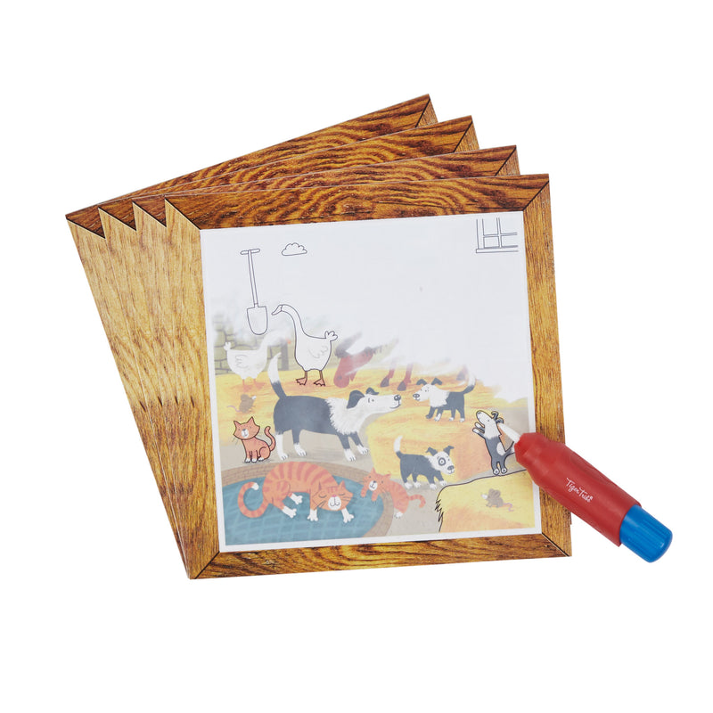 Tiger Tribe Magic Painting World - Farm - Threads for Boys
