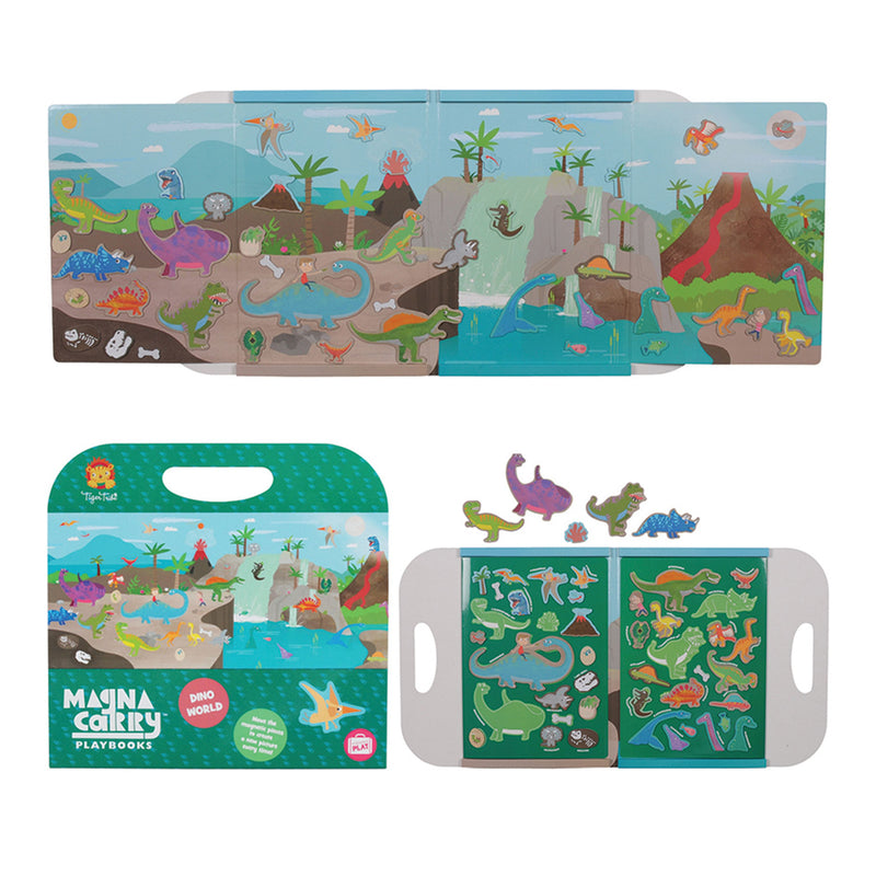 Tiger Tribe Magna Carry - Dino World - Threads for Boys