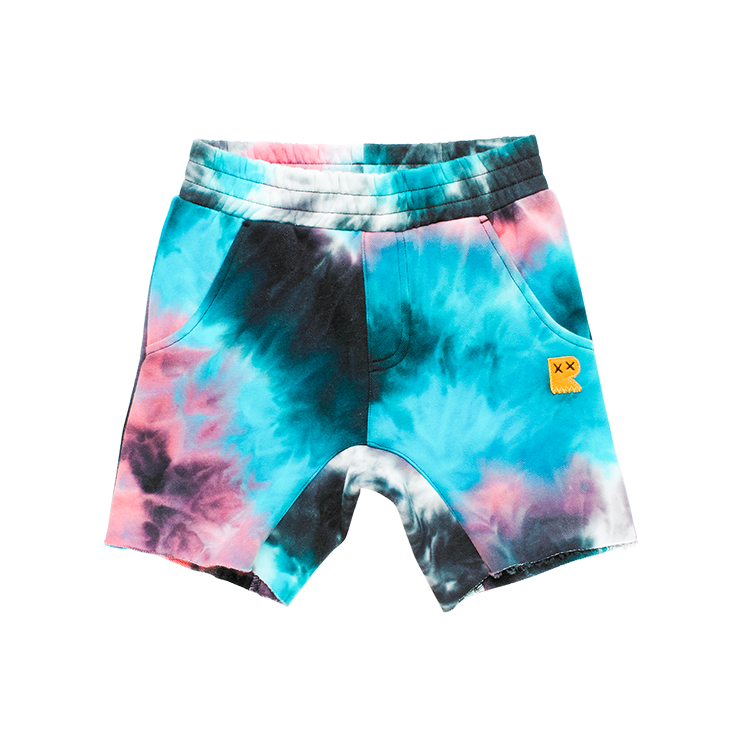 Rock your Baby Ninja Tie Dye Shorts