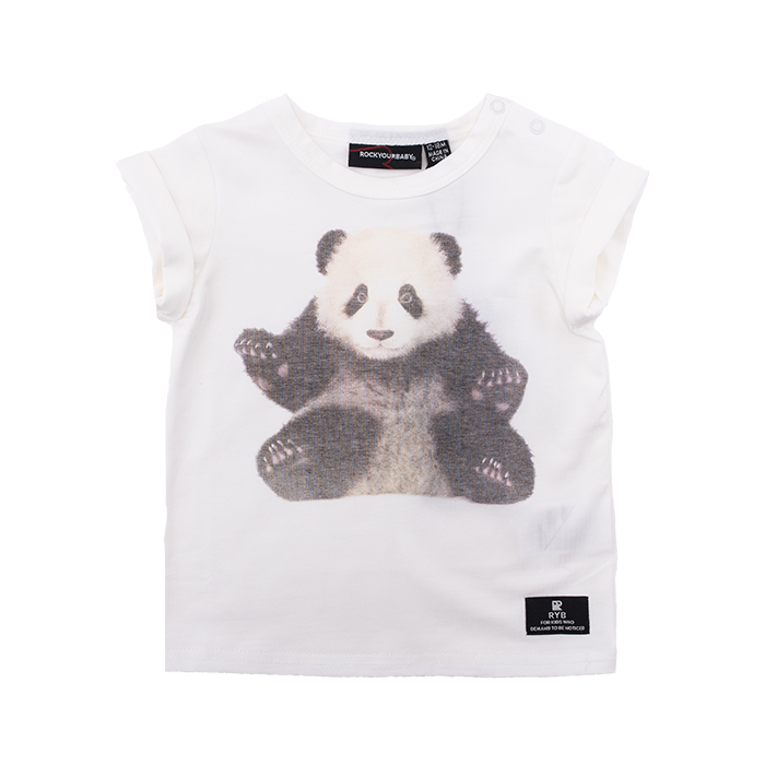 Rock Your Baby Panda T-Shirt - Threads for Boys
