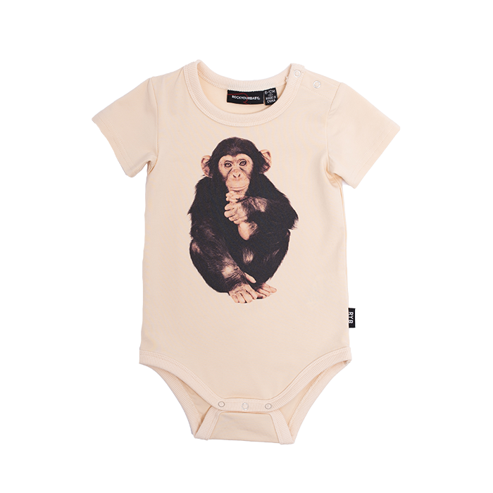 Rock Your Baby Pay Peanuts Bodysuit - Threads for Boys