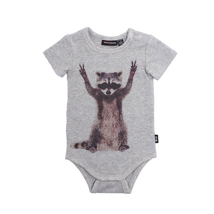 PRE-ORDER Rock Your Baby Peace Out Bodysuit - Threads for Boys