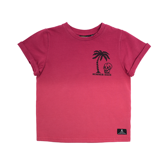Rock Your Baby Red Summer Daze T-Shirt - Threads for Boys
