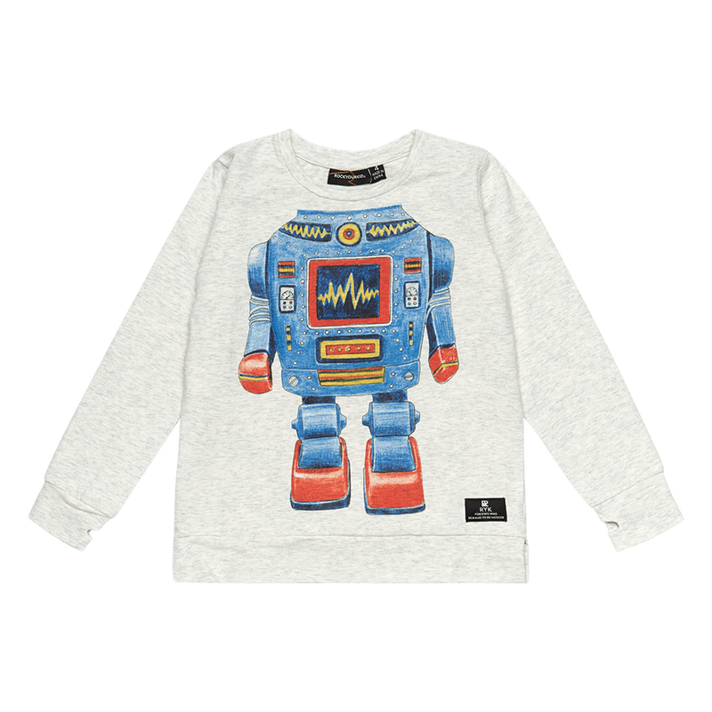 Rock Your Baby Robo Kid T-Shirt - Threads for Boys