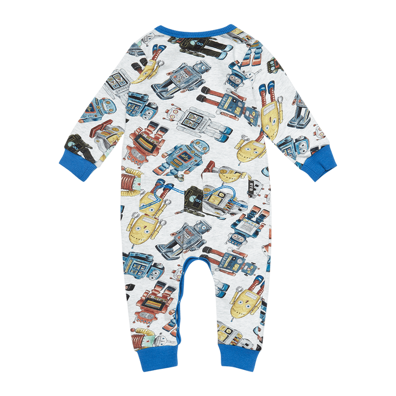 Rock Your Baby Robotic Playsuit - Threads for Boys