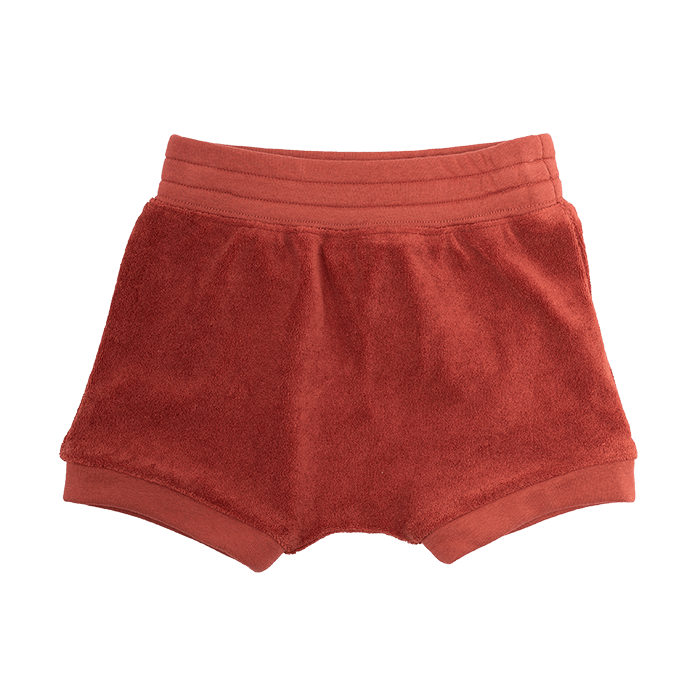 Rock Your Baby Rust Knicker Shorts - Threads for Boys