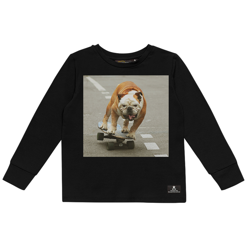PRE-ORDER Rock Your Baby Skater Dog T-Shirt
