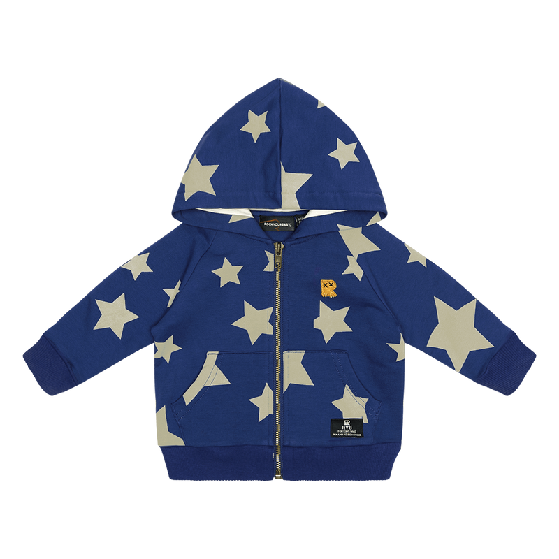 Rock Your Baby Stardust Baby Hoodie
