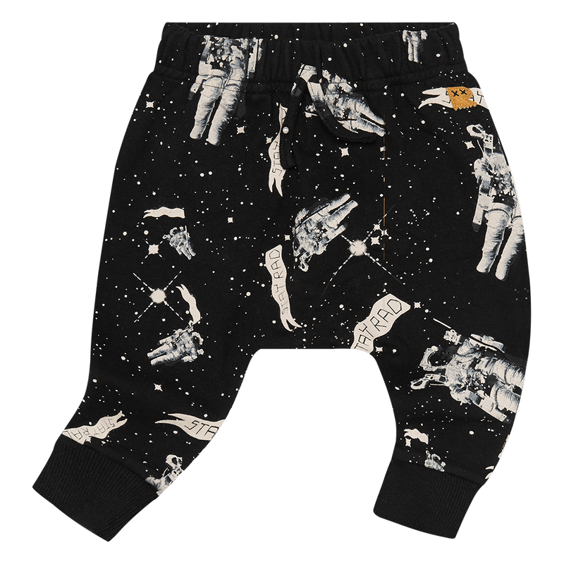 Rock Your Baby Stay Rad Spaceman Baby Track Pants