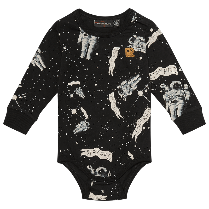 Rock Your Baby Stay Rad Spaceman Bodysuit