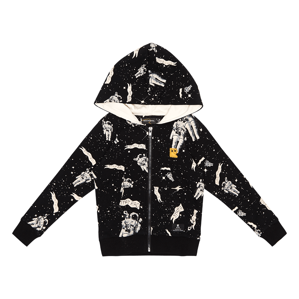 Rock Your Baby Stay Rad Spaceman Hoodie