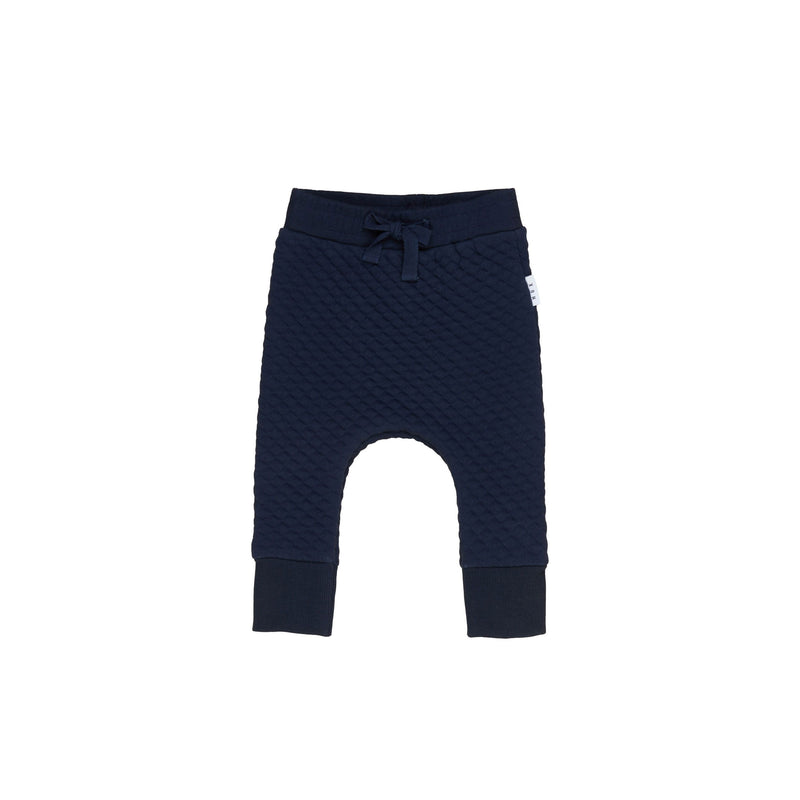 Huxbaby Midnight Stitch Drop Crotch Pant