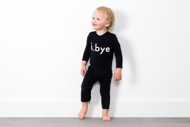 Tiny Tribe K Bye Romper - Threads for Boys