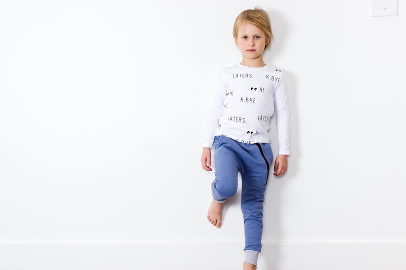 Tiny Tribe Hi Bye Tee - Threads for Boys
