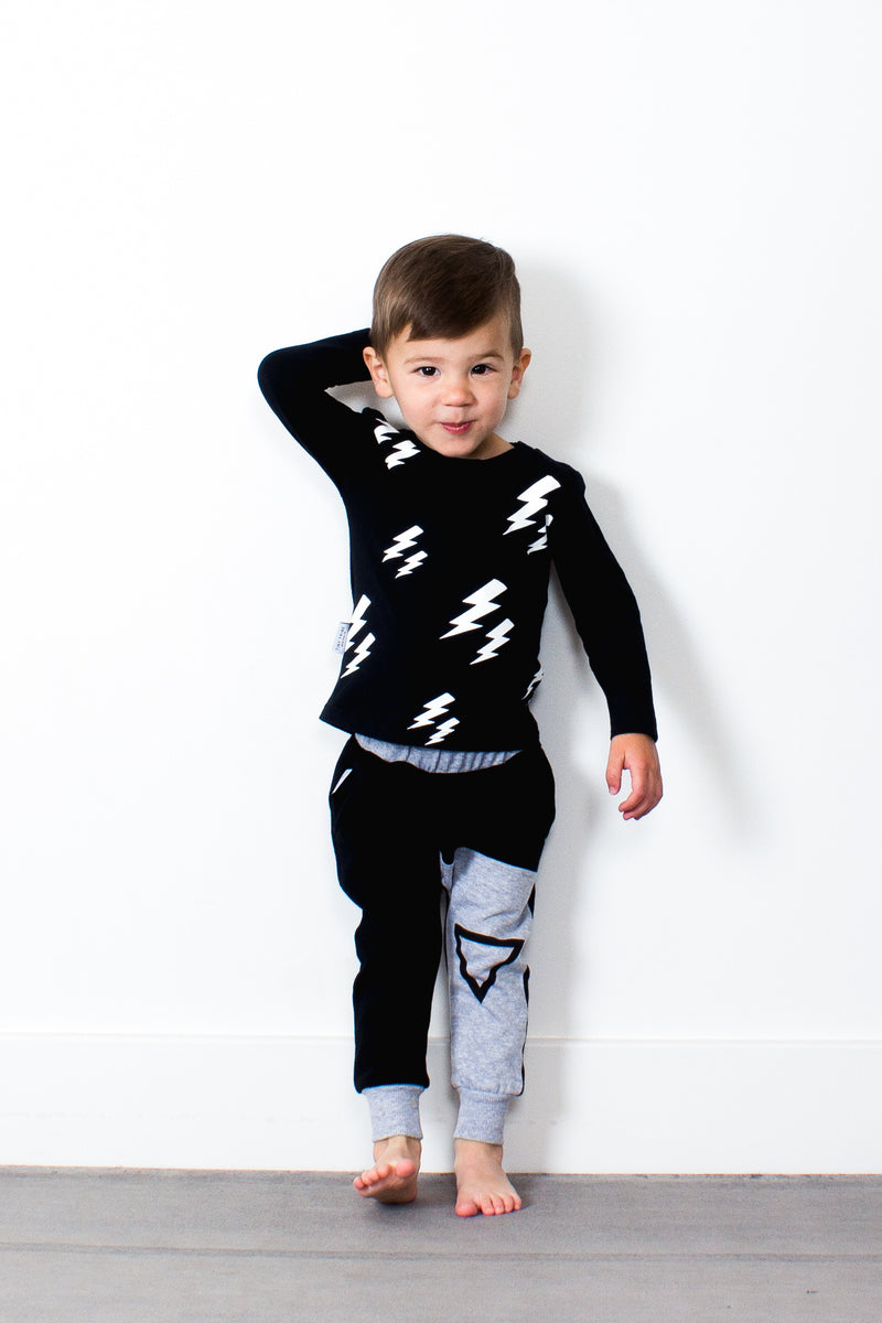 Tiny Tribe Lighting Tee - Threads for Boys