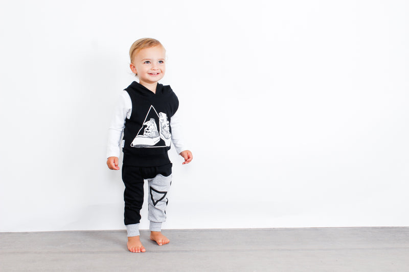 Tiny Tribe Sneaker Vest - Threads for Boys