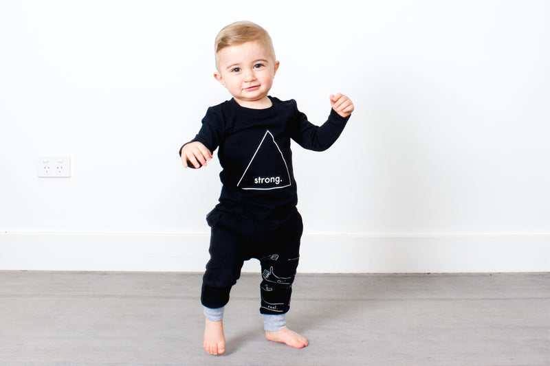 Tiny Tribe Strong Tee - Threads for Boys