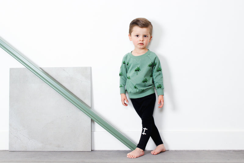 Tiny Tribe Palm Sweater - Threads for Boys
